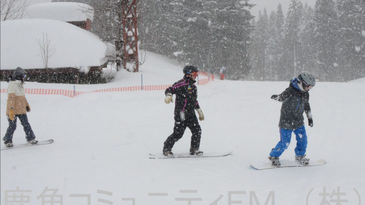 スキーの日で講習会 鹿角市の連盟