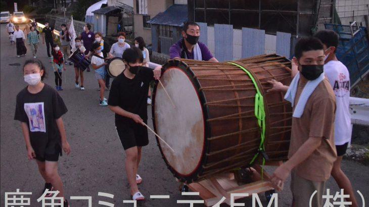 伝統行事の「虫送り」 鹿角市八幡平