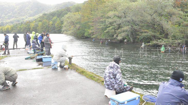 十和田湖のヒメマス釣りが人気 小坂町和井内など