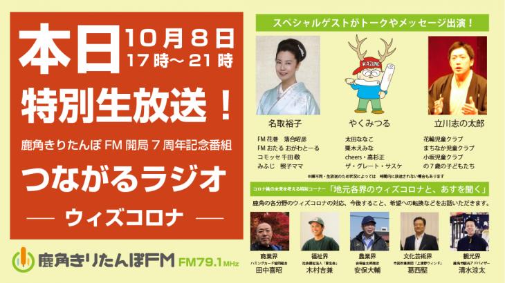 いよいよ本日生放送!開局7周年特番の全貌をお知らせ!